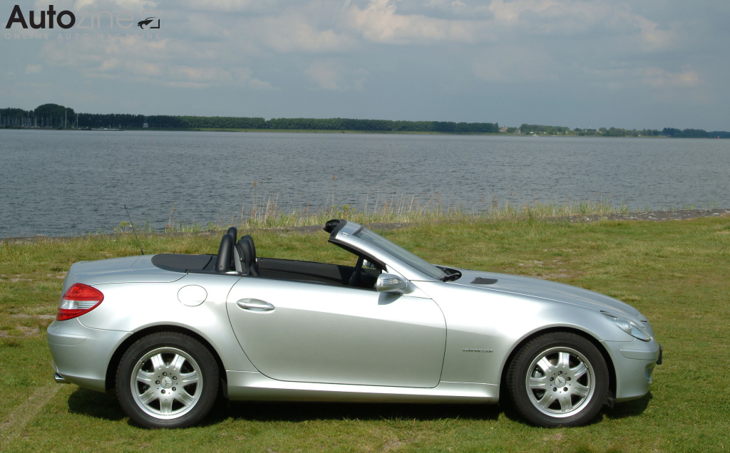 autozine autotest mercedes benz slk 2004 2011. Black Bedroom Furniture Sets. Home Design Ideas