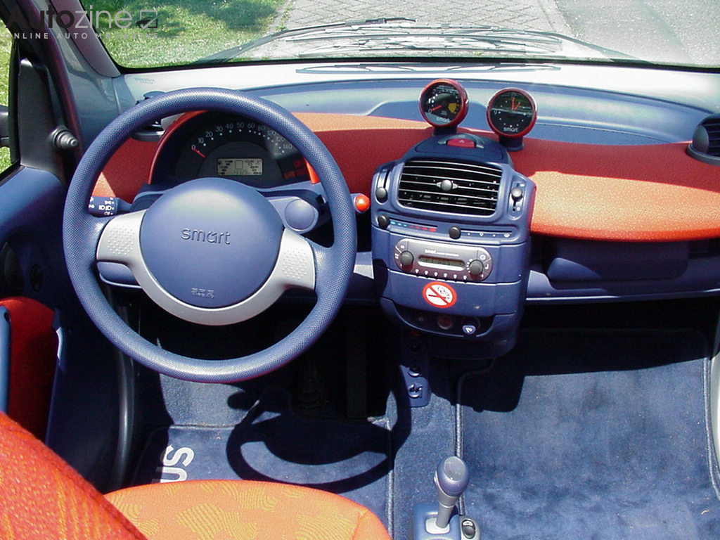 Autozine foto 39 s smart fortwo cabrio 2000 2007 4 4 for Smart interieur