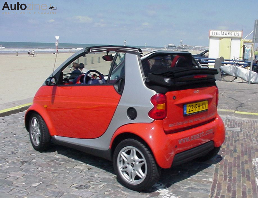 Smart ForTwo Cabrio (2000 - 2007) Schuin achter
