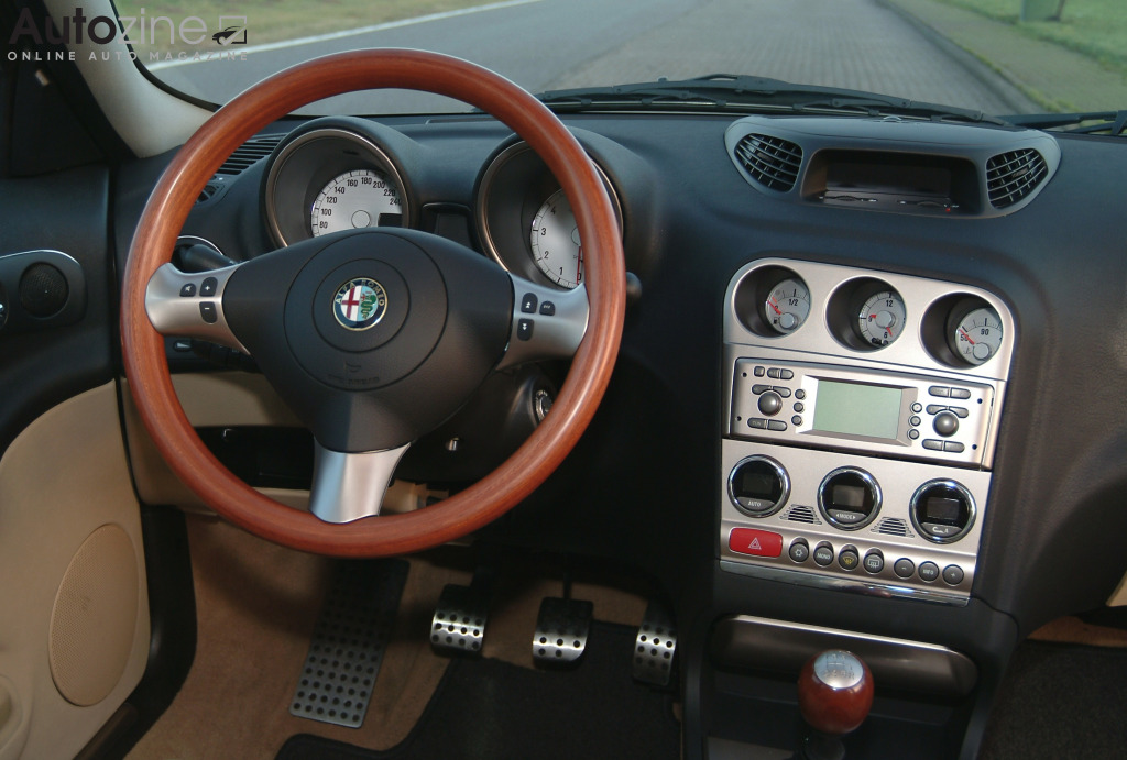 Alfa Romeo Crosswagon Q4 Interieur