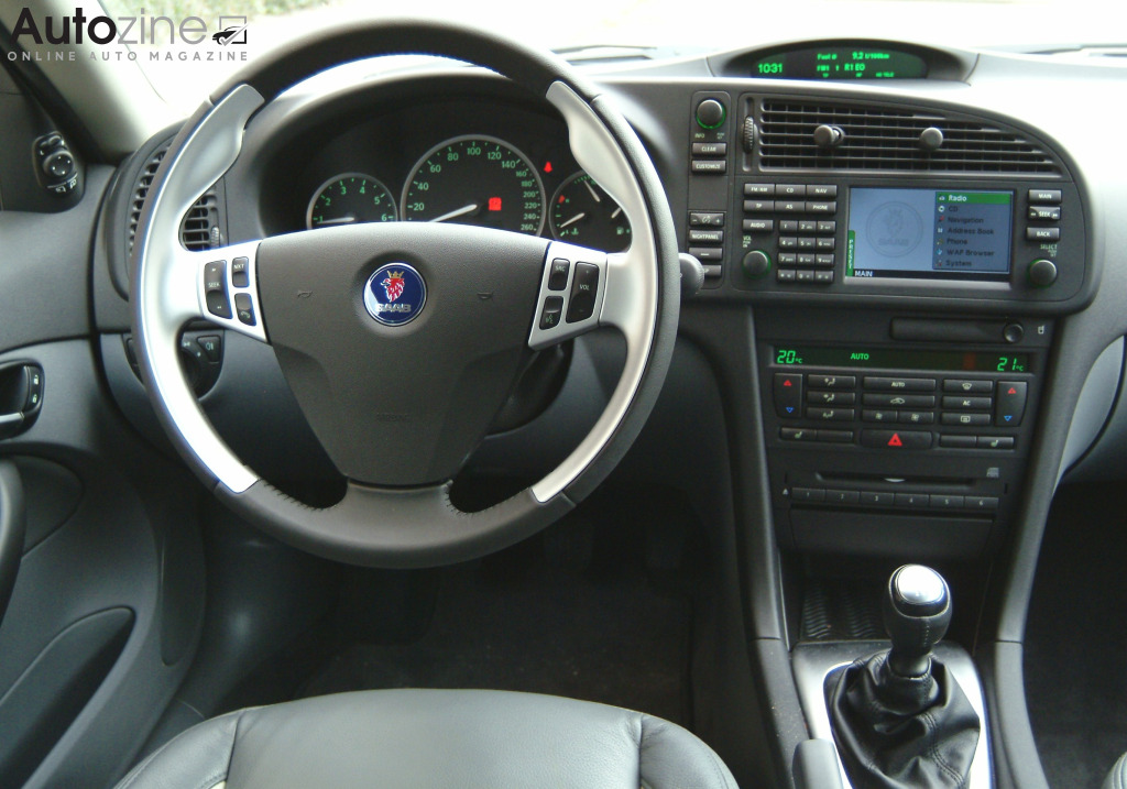 Saab 9-3 Sport Estate Interieur