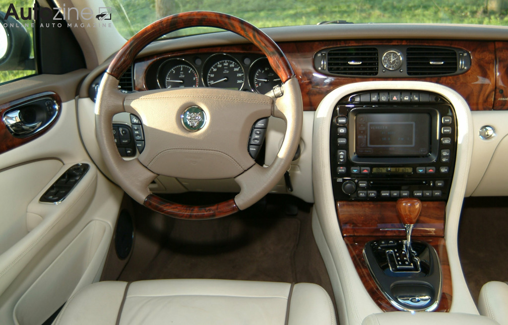 Jaguar XJ (2003 - 2009) Interieur