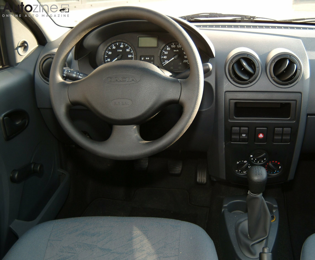 Dacia Logan Interieur
