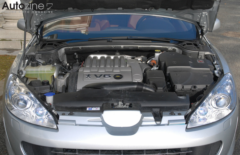 Peugeot 407 Coupe Motor