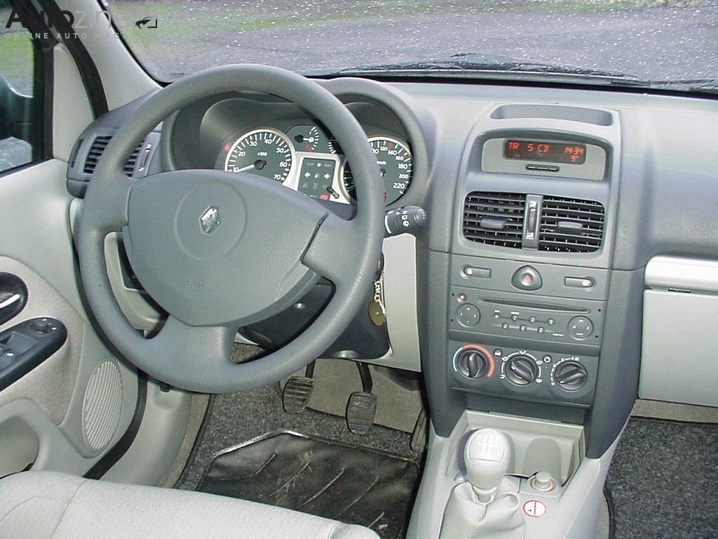 Autozine foto 39 s renault clio 1998 2005 4 5 for Interieur clio 2 2000
