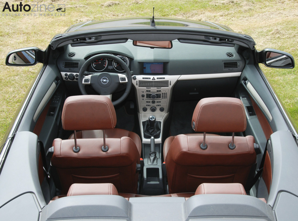 Opel Astra TwinTop Interieur