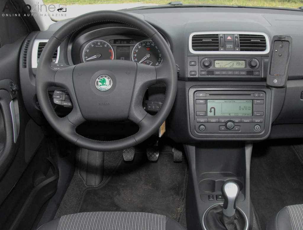 Skoda Roomster Interieur