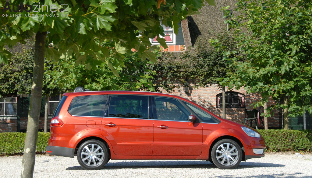Ford Galaxy (2006 - 2015) Zijkant