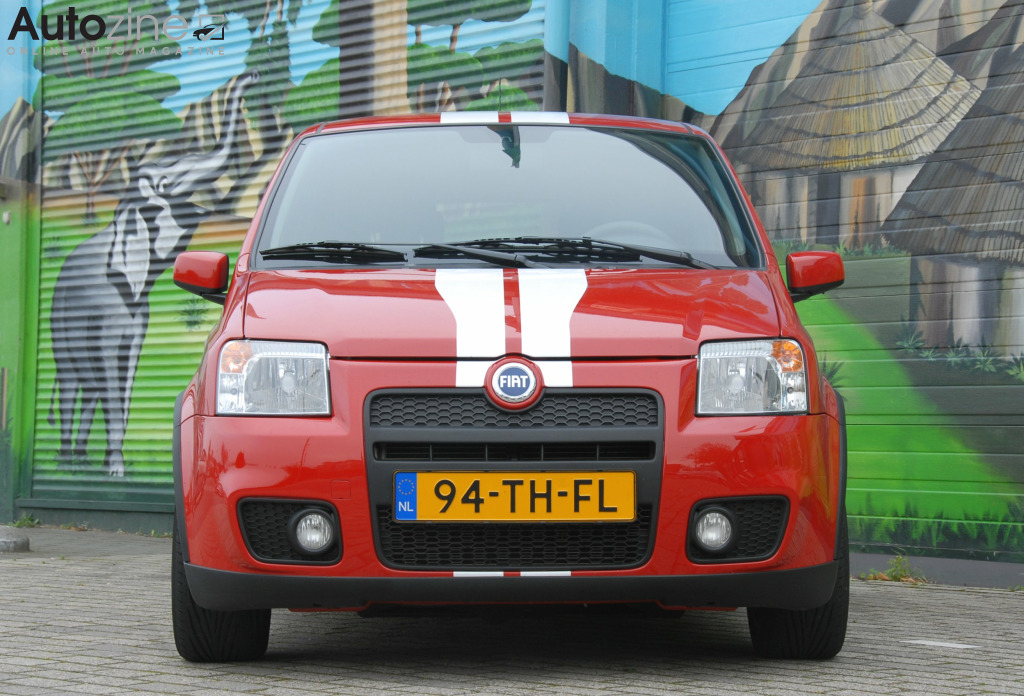 Fiat Panda (2003 - 2011) Jungle recht voor
