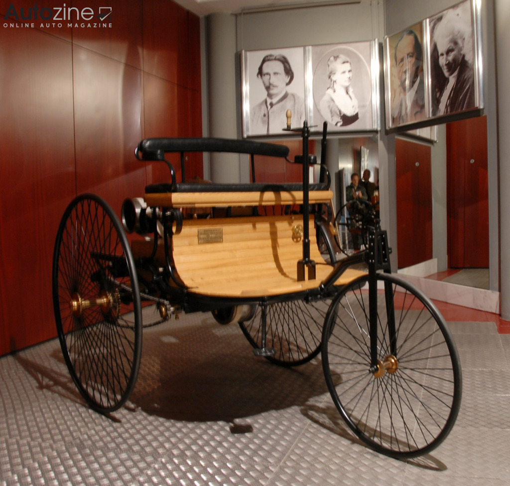 Benz driekwieler (replica)