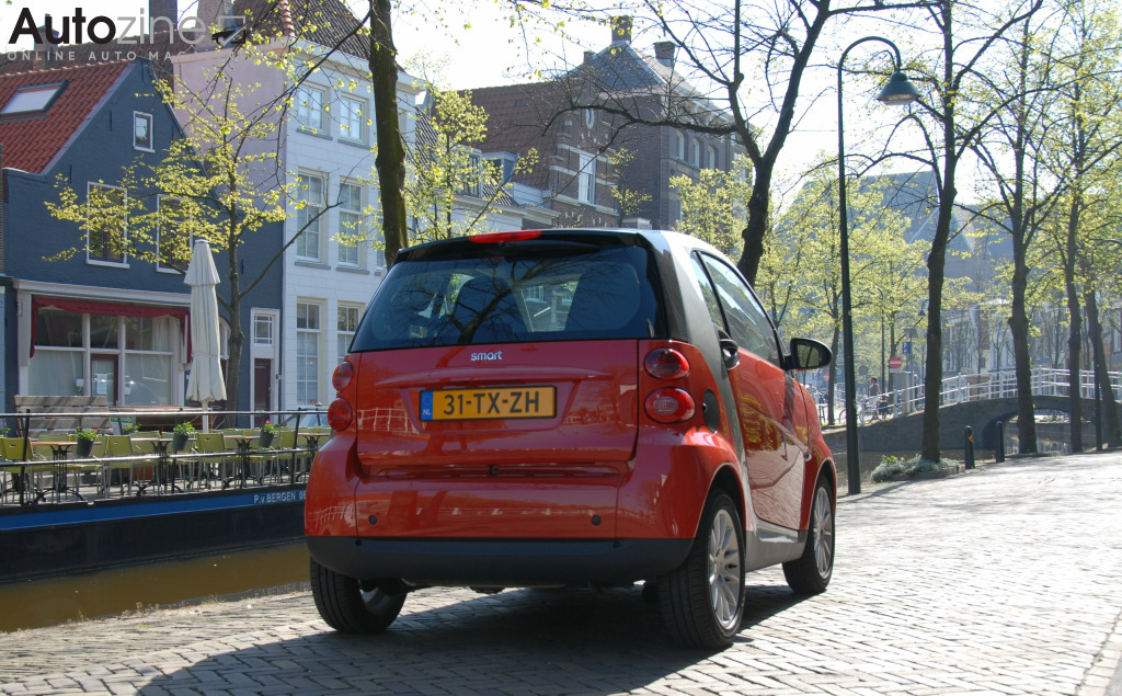 Smart ForTwo (2007 - 2014) Schuin achter