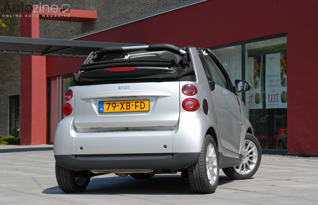 Smart ForTwo Cabrio (2007 - 2016) Spant driekwart achter