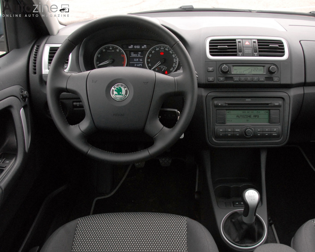 Skoda Roomster Scout Interieur