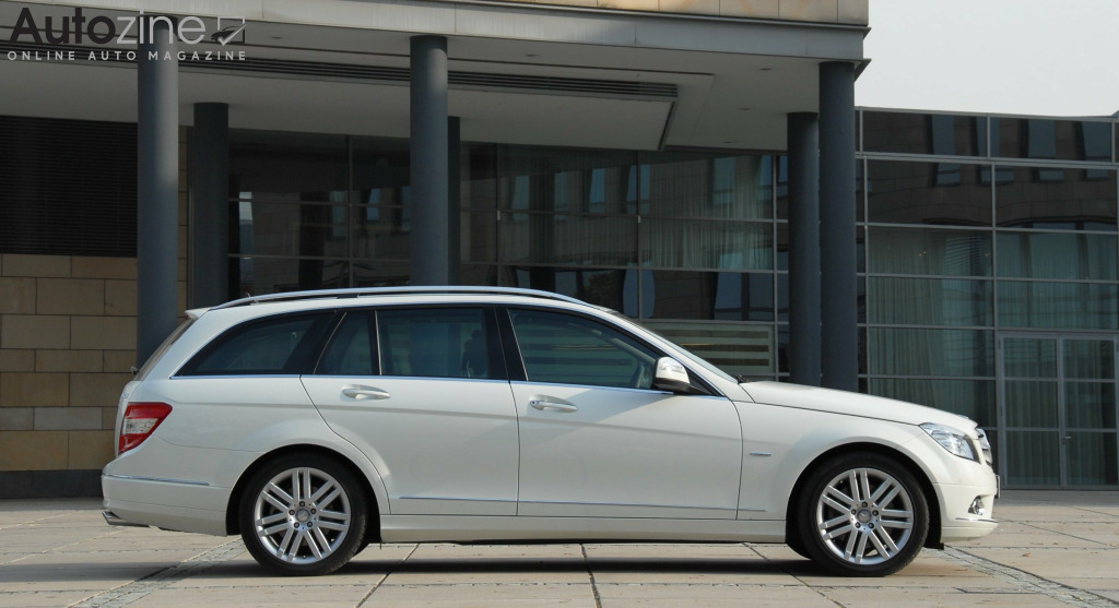 Mercedes-Benz C-Klasse Estate (2007 - 2014) Plein zijkant
