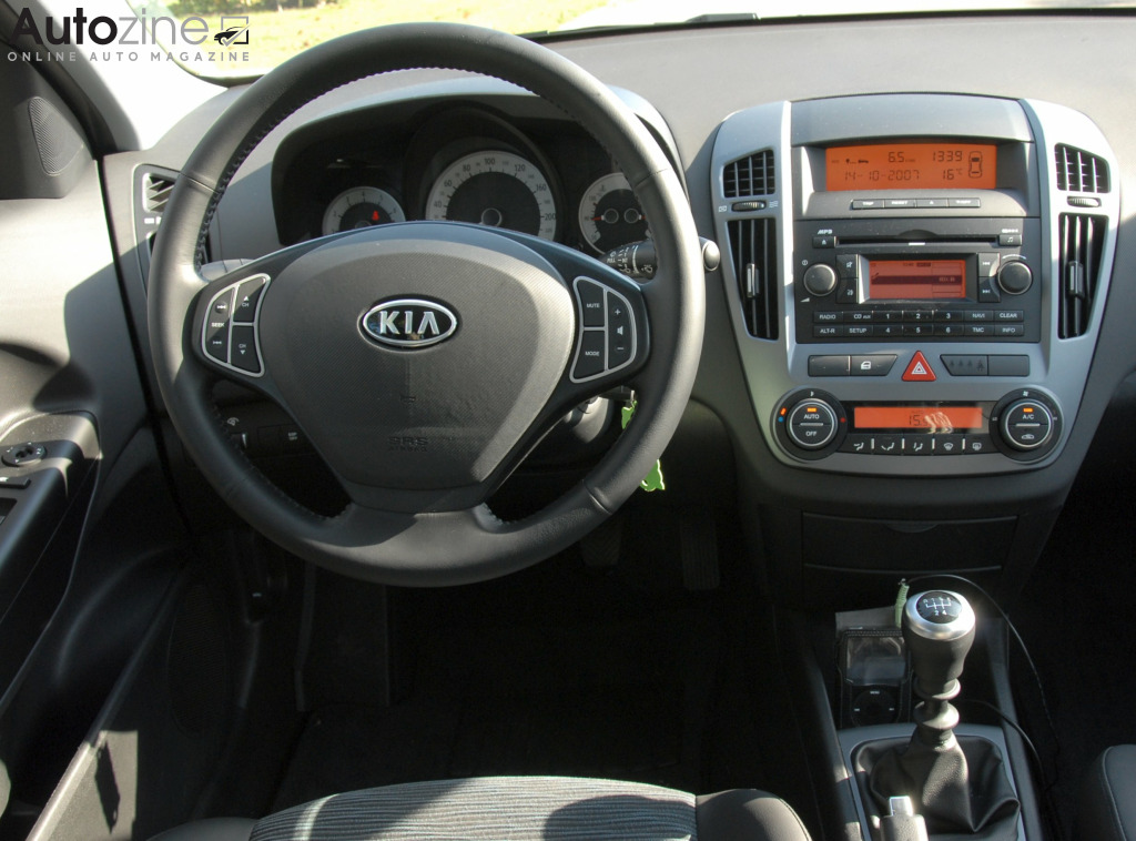 Kia Cee'd Sporty Wagon Interieur
