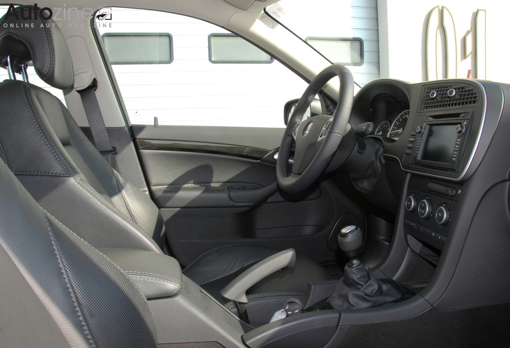 Saab 9-3 Turbo X Interieur
